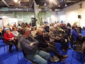 Photo: Immer viel Publikum bei  unseren Vorträgen