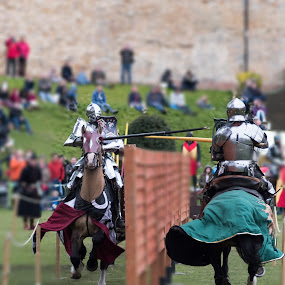 Jousting Event by Tristan Wright - Sports & Fitness Other Sports ( battle, horses, jousting, event, contest, outside, joust )