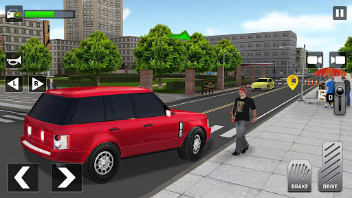 City Taxi Driving: Fun 3D Car Driver Simulator 1.2 screenshots 2
