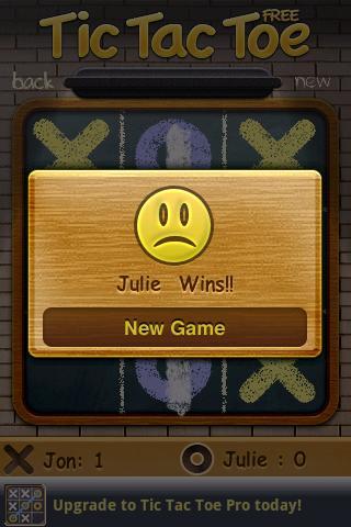 Tic Tac Toe Free screenshot 3