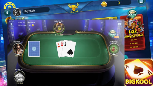 Game danh bai doi thuong - Game Bai Bigkool