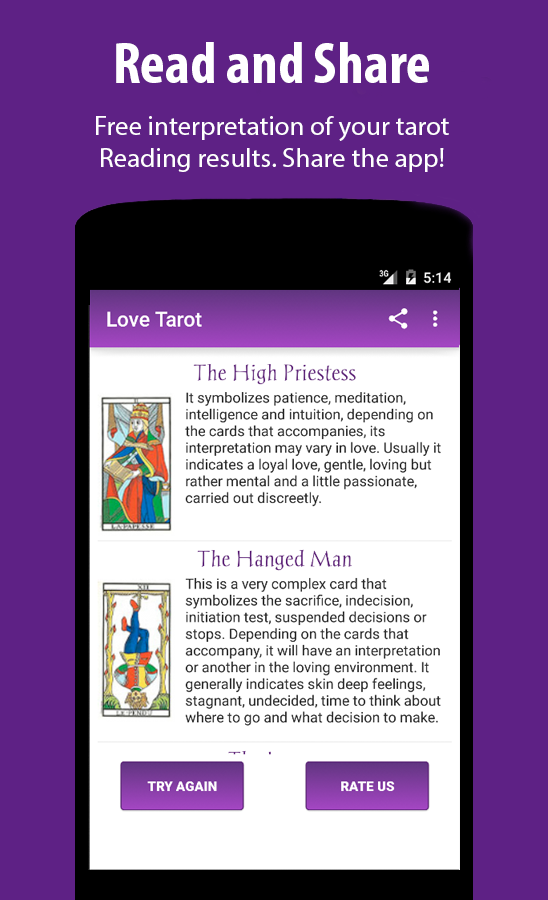 Free Tarot Reading- screenshot
