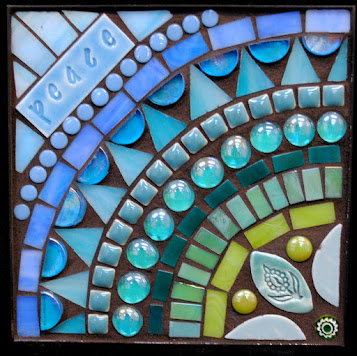 Peace in Aqua by Brenda Pokorny