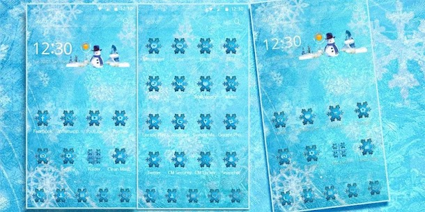 Theme Ice Frozen Snow 3
