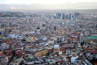 Photo: panorama di Napoli visto dalla Certosa di San Martino