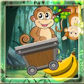 Monkey Cart Jungle Run