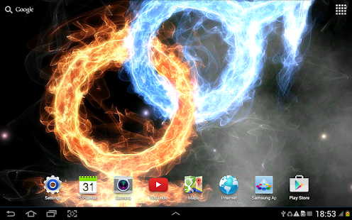 Fire & Ice Live Wallpaper- screenshot thumbnail