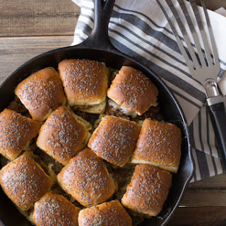 Party Bun Style Sloppy Joes