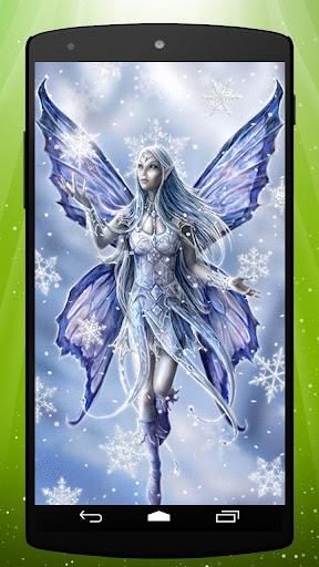 Snow Fairy Live Wallpaper