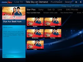 Screenshot of Tata Sky Mobile – For Tablets