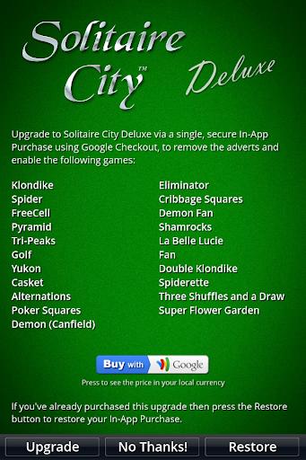 Solitaire City 1.62 screenshots 5