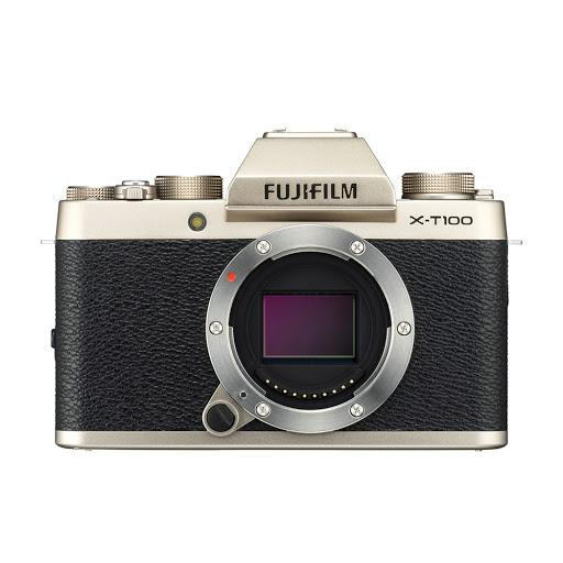 Fujifilm X-T100 Body_ChampagneGold_1.jpg