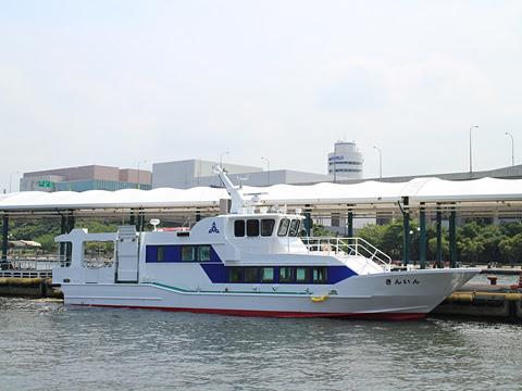 福岡市営渡船 西戸崎・志賀島航路「きんいん」