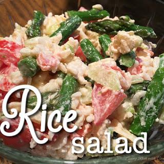 Rice Salad Mayonnaise Dressing Recipes