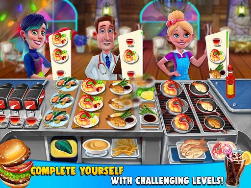 COOKING FUN Crazy Chef Kitchen Craze Cooking Games 2.4 de.gamequotes.net 3