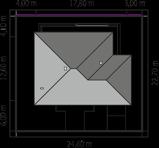 Flori III G1 (wersja B) Leca® Dom - Sytuacja