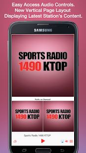 Sports Radio 1490 KTOP- screenshot thumbnail