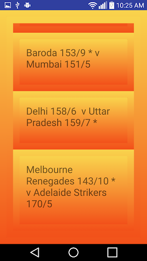 Live Cricket Score Updates