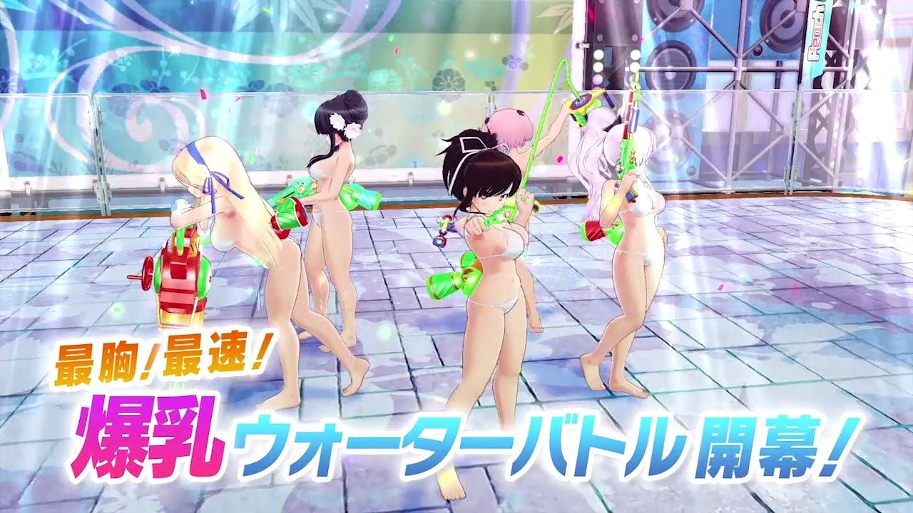[Senran Kagura PEACH BEACH SPLASH] เกมภาคใหม่มาแล้ว!