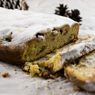 Traditional German Stollen for Christmas