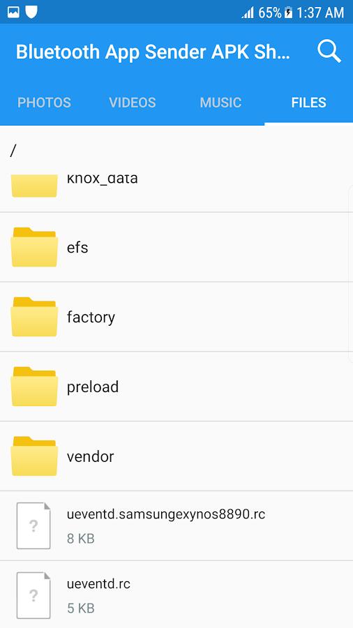 App Bluetooth App Sender APK for Windows Phone