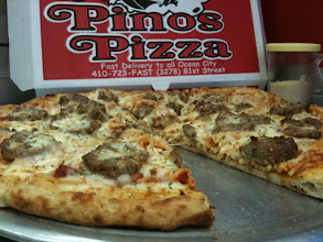 Photo: SPAGHETTI AND MEATBALL PIZZA. ONE OF THIS YEARS 10 SPECIALTY PIZZAS. YES WE ADDED PASTA TO THE MENU, AS WELL AS STUFFED SHELLS.