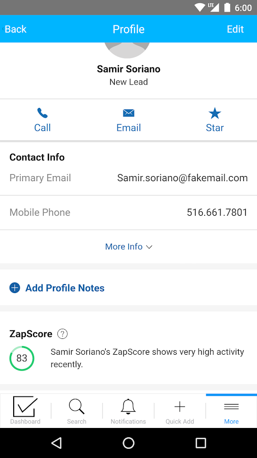 Zap - Real Estate CRM- screenshot