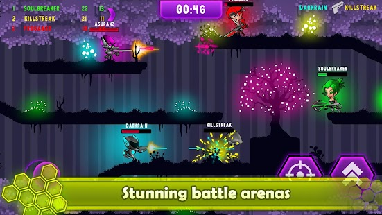 Neon Blasters Multiplayer Shooting - náhled