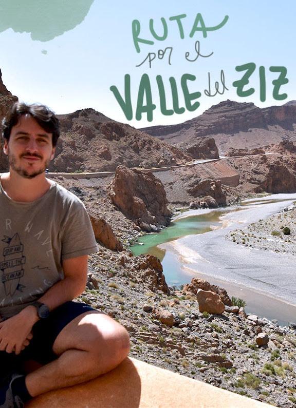 ruta por el valle del ziz