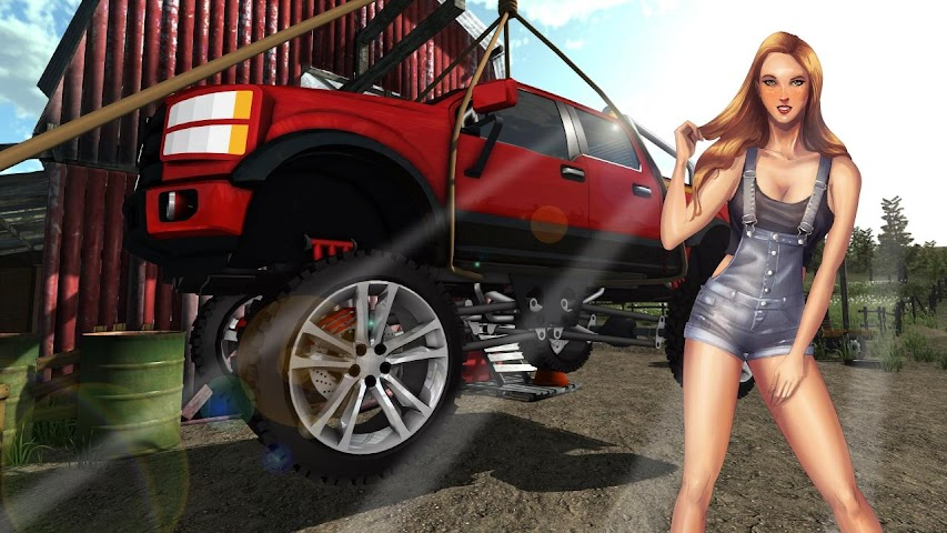 android Fix My Truck: Offroad Pickup Screenshot 8