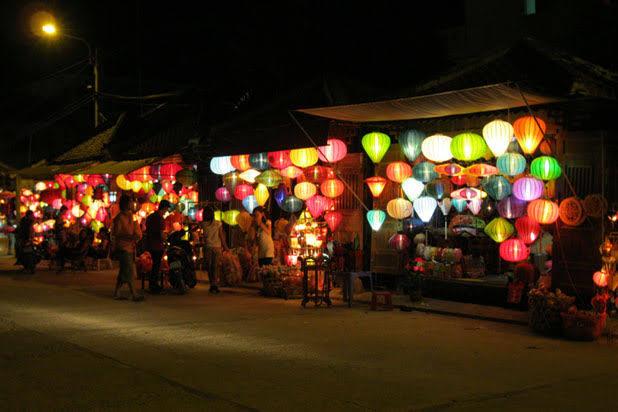 Lantern making in Hoian