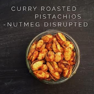 Sweet Curry Roasted Pistachios.