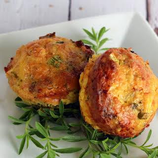 Broccoli & Cheese Breakfast Muffins.
