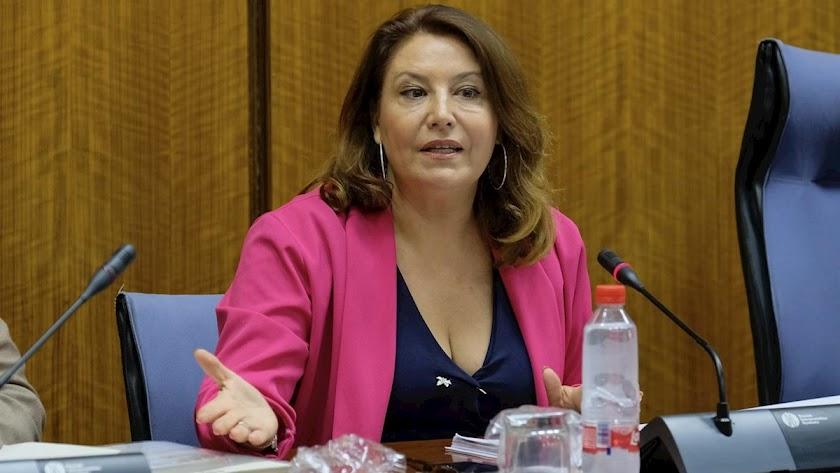 Carmen Crespo, consejera andaluza de Agricultura.