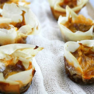 Cheesy Apple Pumpkin Tarts