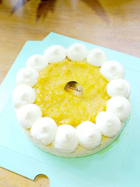 夏天最熱情的滋味!!起士公爵 陽光鳳梨乳酪蛋糕