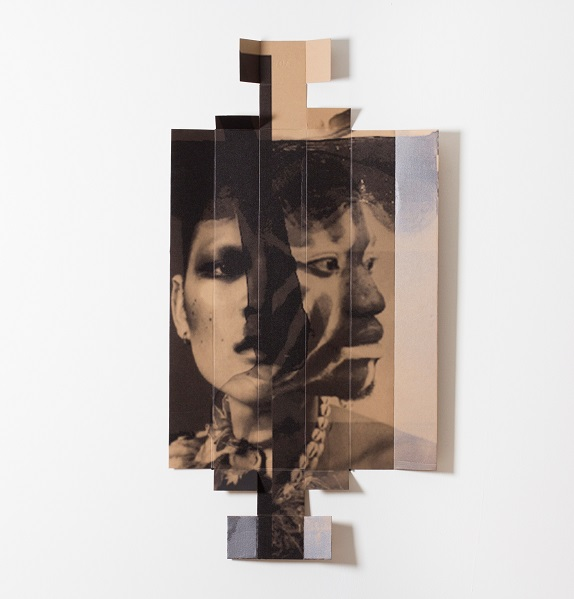 Broomberg & Chanarin: Untitled 35, UV print on cardboard. Picture: SUPPLIED