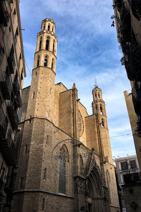 Katedra Santa Maria del Mar w Barcelonie