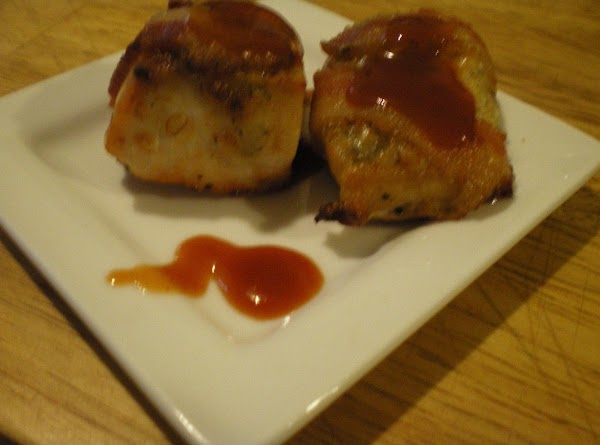 Bacon Wrapped Chicken With Applebutter Bbq Sauce Recipe