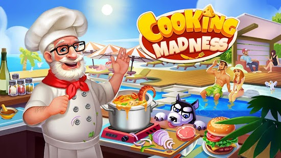 Cooking Madness - A Chef's Restaurant Games мод