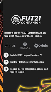 EA SPORTS™ FIFA 21 Companion Screenshot