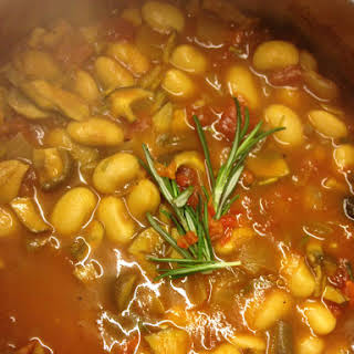 Butterbeans With Rosemary.