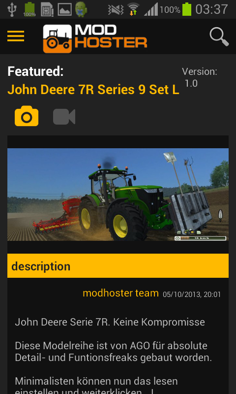 Farming Simulator Mods- screenshot