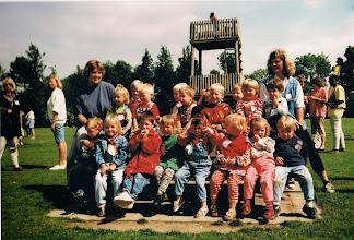 Photo: Uitje miniwiek naar het recreatieoord. Eerste helft jaren 90-tig