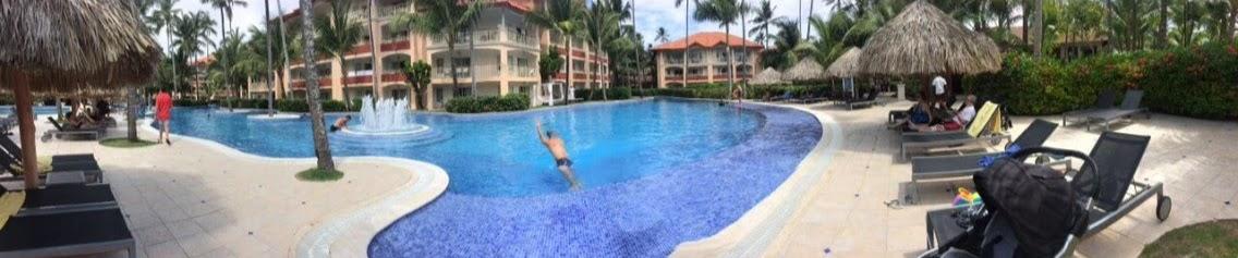 piscina do hotel majestic elegance punta cana