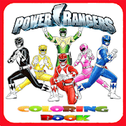 App Power Rangers Coloring Book apk for kindle fire