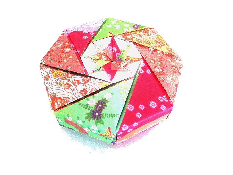 Origami, Japan, Paper, Japanese Patterns, Box, Gift