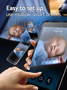 BabyCam: Baby Sleep Monitor & Nanny Cam - 3G, Wifi- screenshot thumbnail