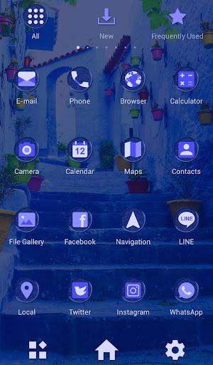 Beautiful Theme Blue Chaouen 1.0.0 Windows u7528 3