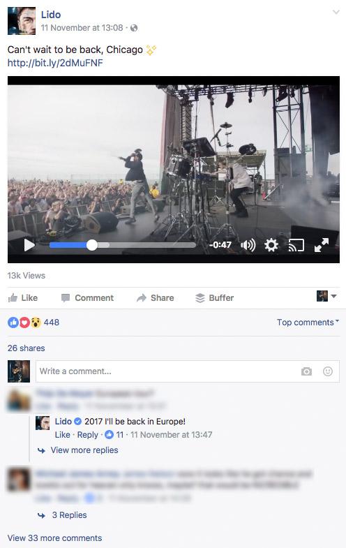 Cách tăng like cho fanpage với video thu hút.